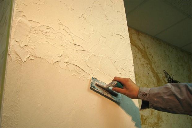 Штукатурка — основа убранства внутренних стен